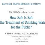 Clarke Prize 2013: la seguridad de la potabilización del agua