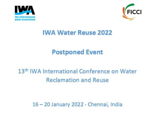 13ª IWA International Conference on Water Reclamation and Reuse
