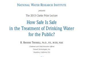 ¿Qué seguridad ofrece el agua segura?: el Clarke Prize 2013