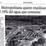 Reutilización en el AMB en 1991