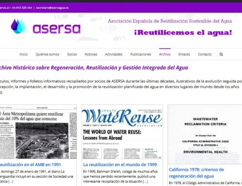 Archivo histórico de la reutilización del agua