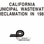 Reutilización de agua en California en 1987