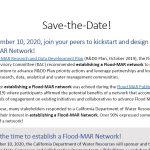 Nueva red sobre recarga planificada de acuíferos