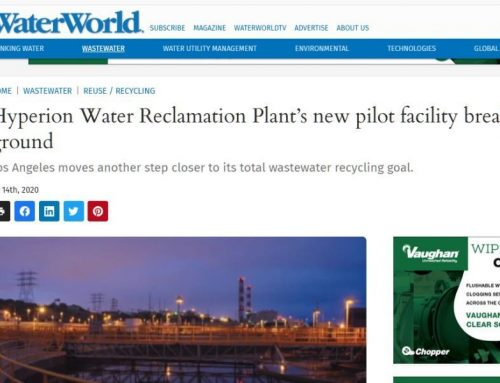 Los Angeles: hacia la reutilización total en 2035