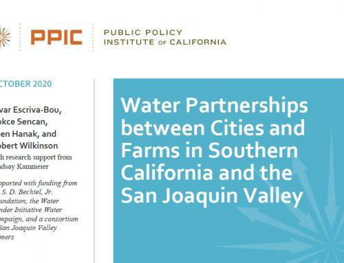 Beneficios hídricos mutuos: colaboración entre ciudades y agricultura