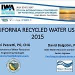 Evolución del uso de agua regenerada en California