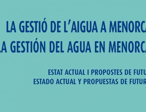 La Gestión del Agua en Menorca