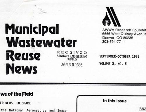 Recarga de acuíferos con agua regenerada: mesa redonda AWWA