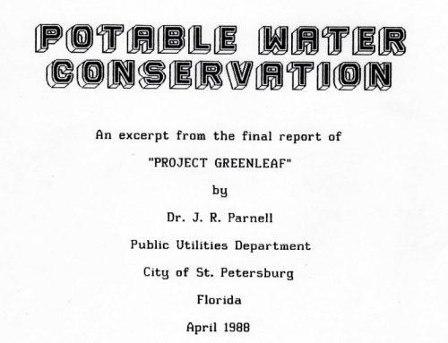 Ahorro de agua potable mediante la reutilización