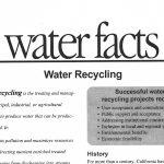 Reutilización del agua: una realidad hídrica