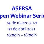 ASERSA Open Webinar Series 2021