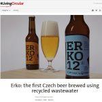 ERKO: la primera cerveza checa fabricada con agua regenerada