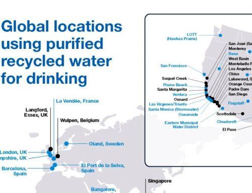 Mapa mundial de la reutilización potable