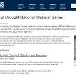 Sequía ecológica: webinario de sensibilización