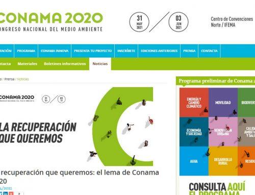 Congreso de CONAMA 2020