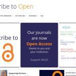 Suscribirse al Open Access de la IWA