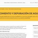 Consumo energético de la depuración en España
