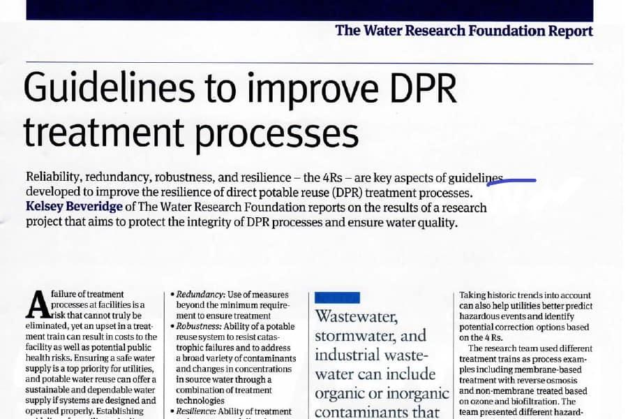 Directrices para mejorar los procesos de RPD