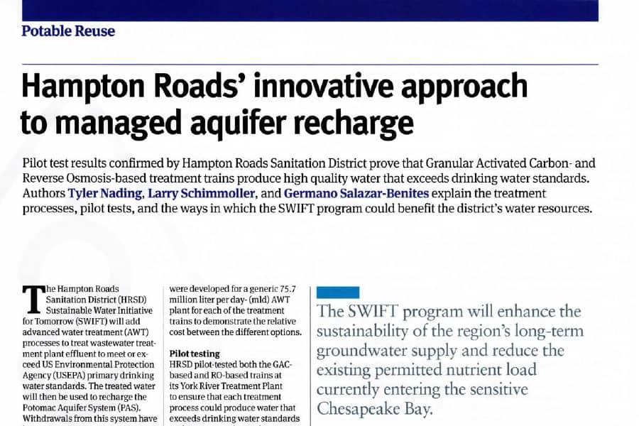Enfoques innovadores para la recarga de acuíferos