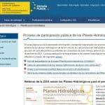 Planes Hidrológicos 2022-27: proceso de participación pública
