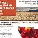 Estado de la sequía en California y Suroeste de EEUU: junio 2021