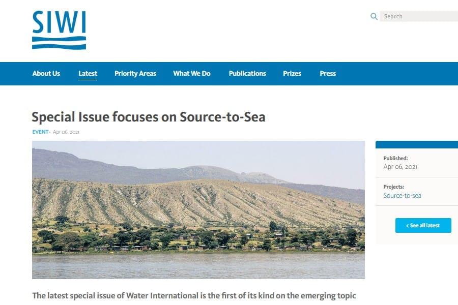Water International: del nacimiento a la desembocadura