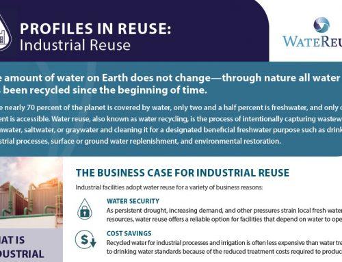 Ficha informativa sobre la reutilización industrial: beneficios y oportunidades