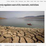 California anticipa intensas restricciones: escasas reservas en los embalses