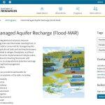 Reunión sobre la recarga de acuíferos (Flood-MAR) en suelos agrícolas fertilizados