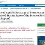 Recarga de acuíferos con agua de tormentas en los EEUU: informe final