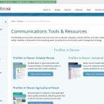 Medios y recursos de comunicación de la WRA